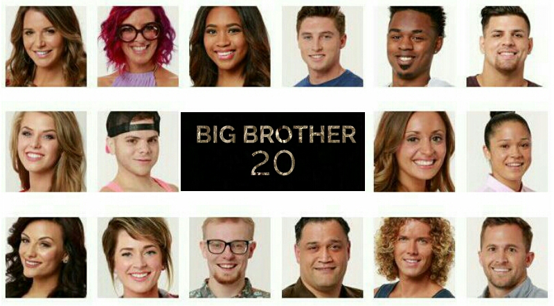 Big Brother 20 Houseguests 2018 Live Show | BB 20 Cast Live Premiere We've got sixteen all-new faces, completely fresh to the BB 20 game. If we get through this season, which started on Wednesday 27th June, with no stunts or returning players being added then this could be the first time since BB12 that we've had a pure, new cast in the BB live show.