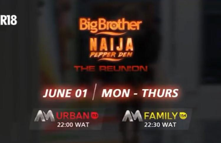 Big Brother Naija 2020 Reunion Time and Date for Ex-Housemates