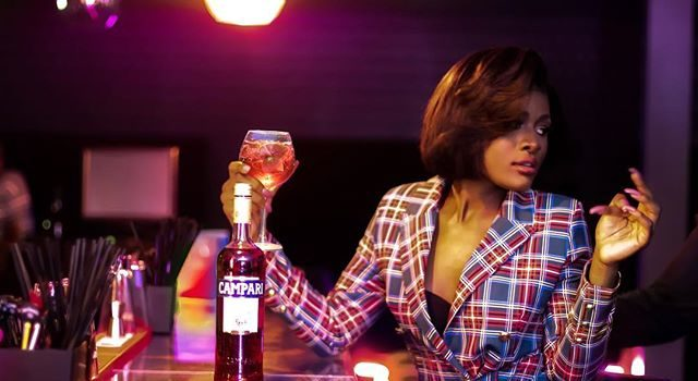 Alex returns to Instagram in New Photo Shot with Campari- Details.