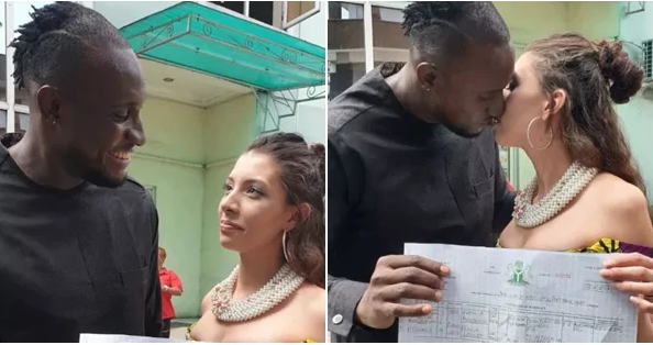 Angel BBNaija got Married to Canadian Girlfriend in Port Harcourt (PHOTO)