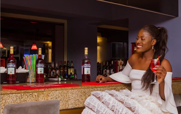 Alex BBNaija Enjoying Her Moment with Campari as Ambassador (DETAILS)