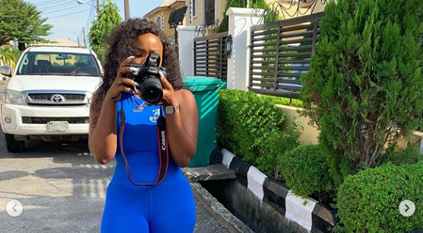 Cee-C BBNaija Blazing the Social Media Space with her Cegar Products (PHOTO)