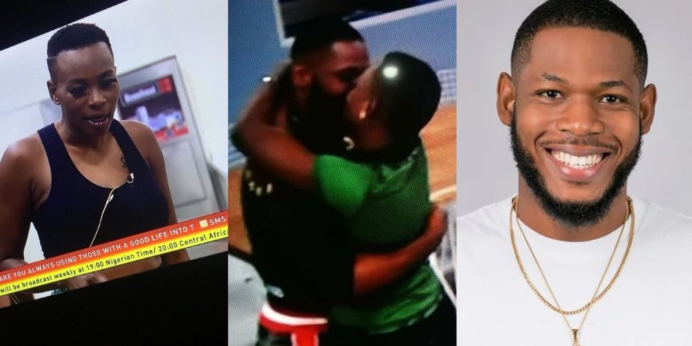 Isilomo and Frodd Kissed Passionately in Big Brother House (Photo)