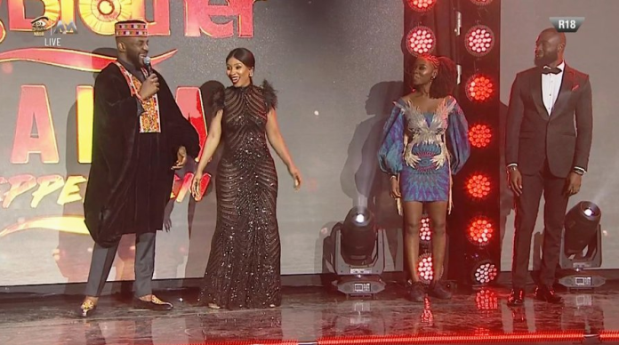 BBN 2019 Housemate, Mercy Exposes Her Underwear on Stage (PHOTO)
