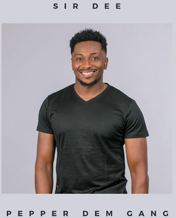 PICTURE OF BBNAIJA SIR DEE | SIR DEE BBNAIJA PICTURE