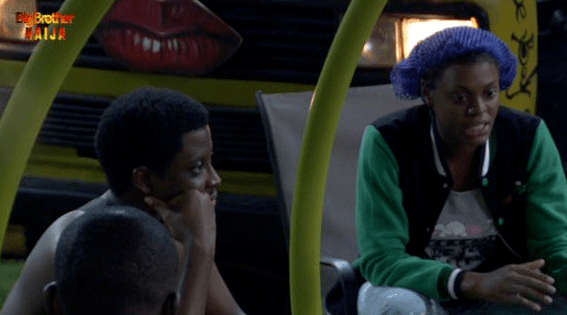 Seyi and Tacha returned to Big Brother house
