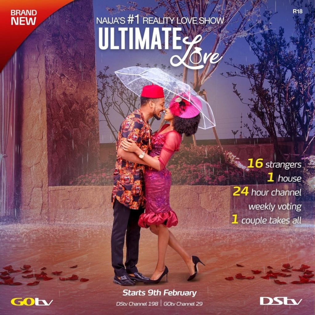 Ultimate Love Reality Show Housemates For Season 1 (2020)