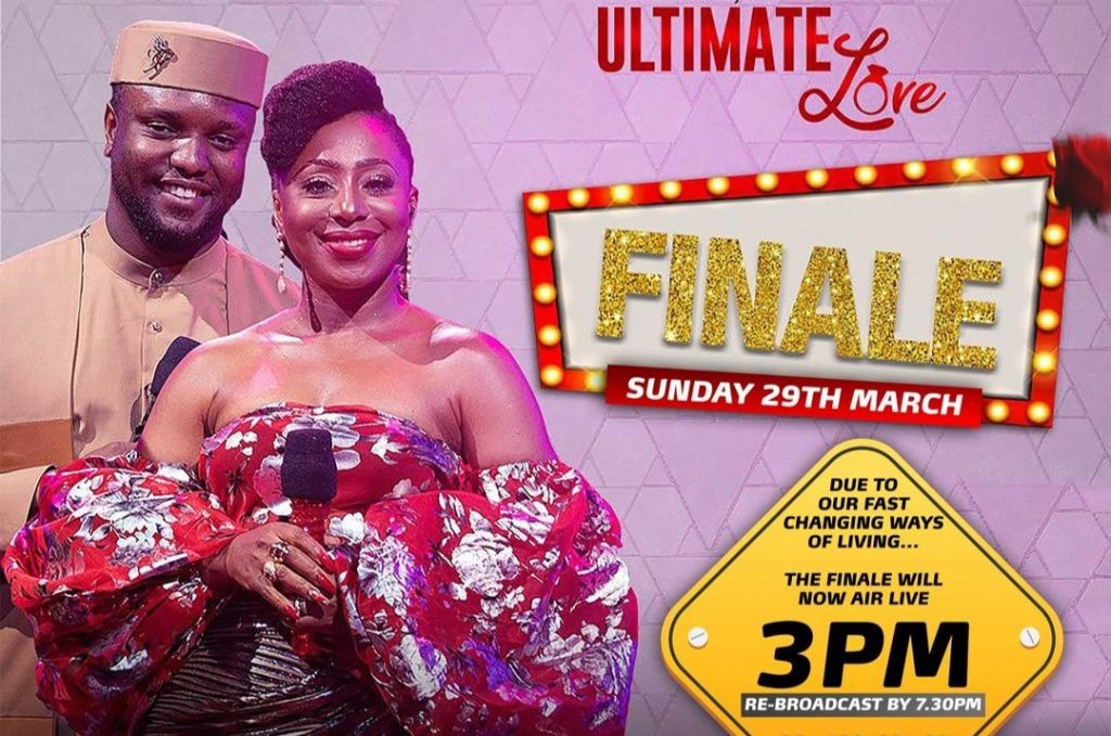 Time for Ultimate Love Final Show | Watch Ultimate Love Final Show.