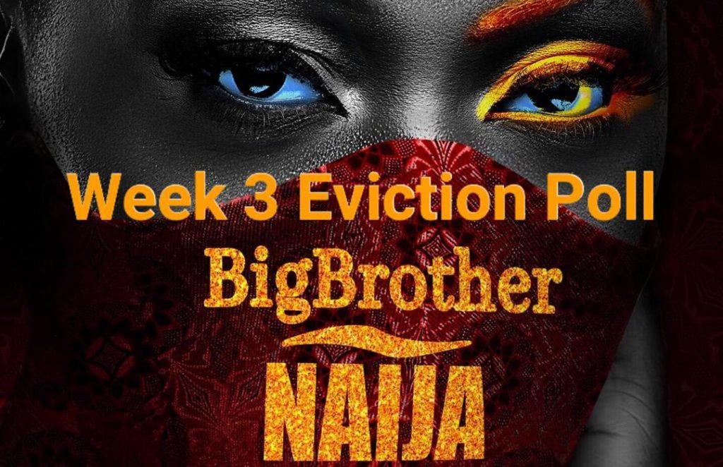 BBNaija Week 3 Poll 2020 | Week 3 Eviction Poll in BBNaija 2020.