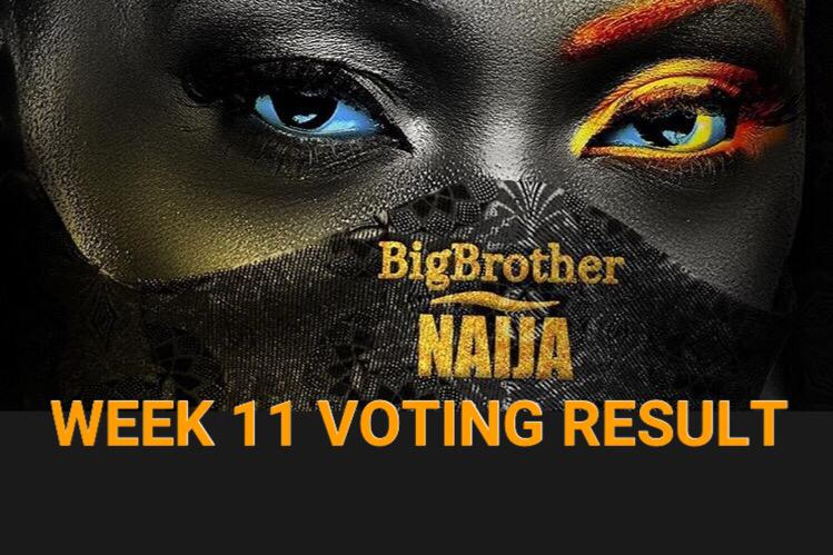 Week 11 Voting Poll Result in BBNaija 2020 Season 5.