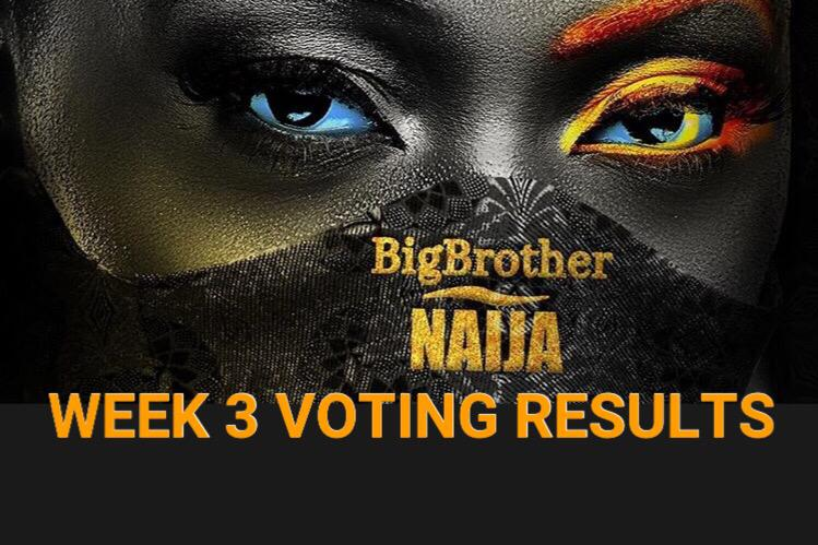 Week 3 Voting Poll Result in BBNaija 2020 Season 5.