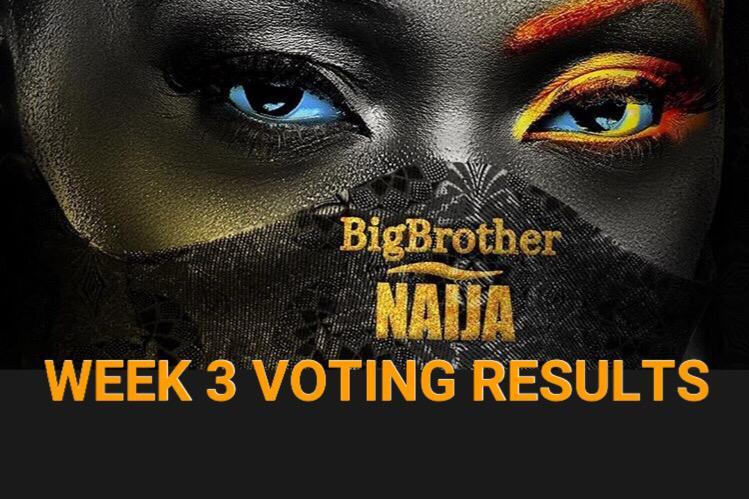 Week 3 Voting Poll Result in BBNaija 2020 Season 5.