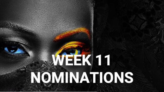Nomination Result for Week 11 in BBNaija 2020