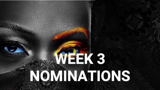 Nomination Result for Week 3 in BBNaija 2020.