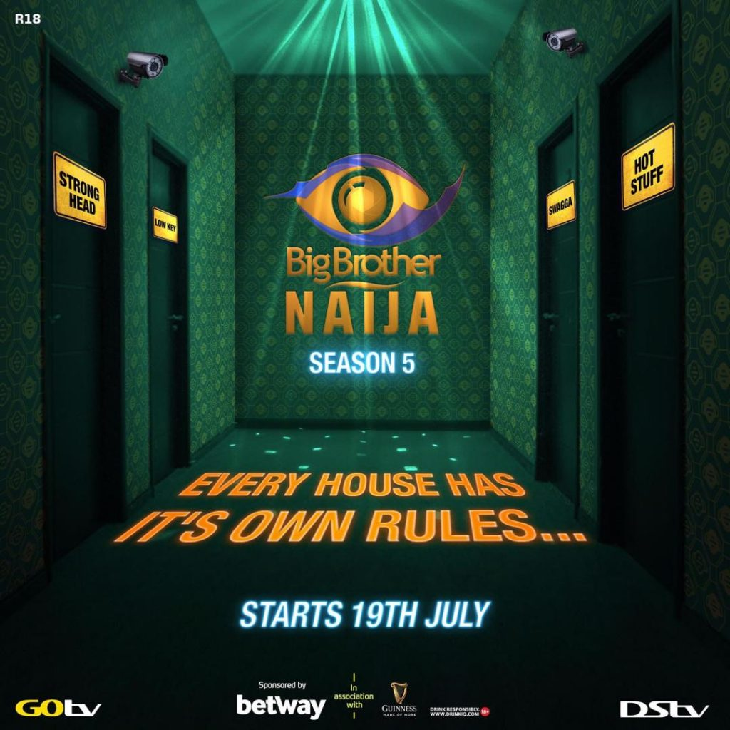 Big Brother Nigeria season 5 2020 officially returns to our TV screen July 19, 2020. Stay connected and be the first to get the latest updates and exciting news from the new season of the BBNaija 2020 reality TV show. According to the organisers, the show will start on July 19, 2020, as announced on various social media pages