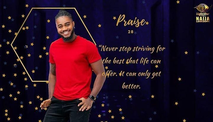 Praise BBNaija Biography, Age, Pictures, Lifestyle, and Occupation