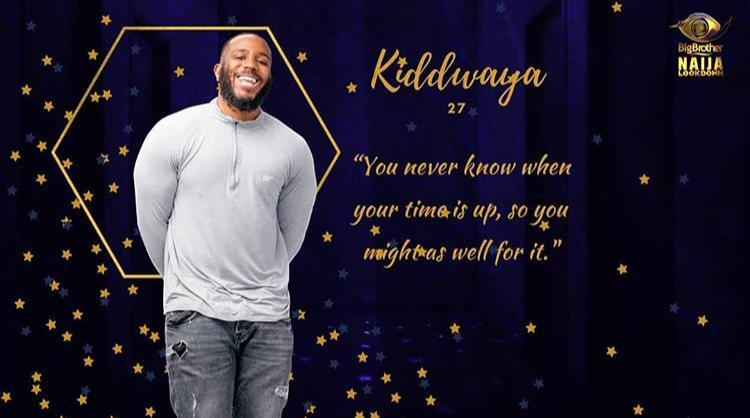 Kiddwaya BBNaija Evicted in Week 8 from Big Brother Naija Lockdown.