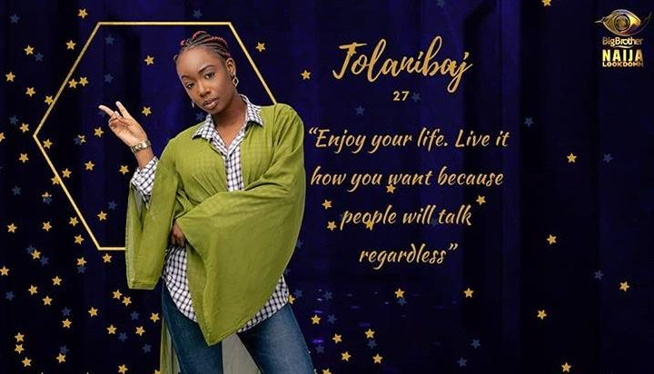 Tolanibaj BBNaija Biography, Age, Pictures, Lifestyle, and Occupation.