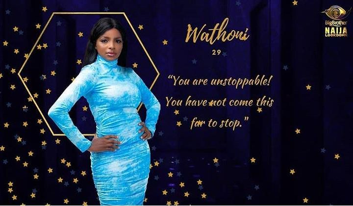 Wathoni BBNaija Biography, Age, Pictures, Lifestyle, and Occupation