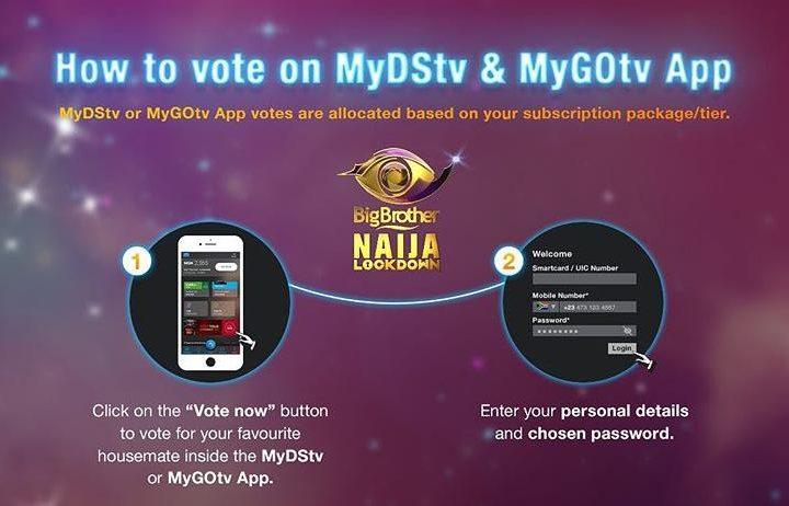 DStv App Vote in BBNaija 2021