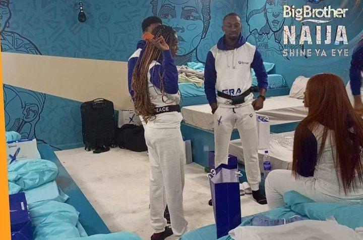 Big Brother Naija Week 1 Arena Game Winner 2021 Shine Ya Eye
