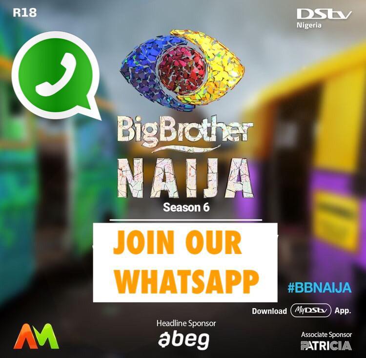 Big Brother Naija Whatsapp Group