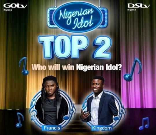 Nigerian Idol Final Voting Result 2021 Season 6