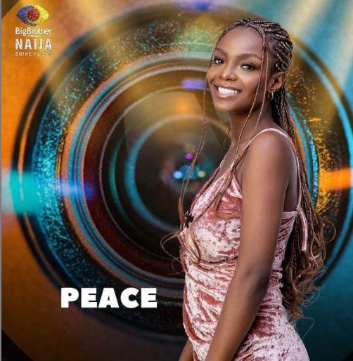 Peace Won Head of House for Week 1 in BBNaija 2021