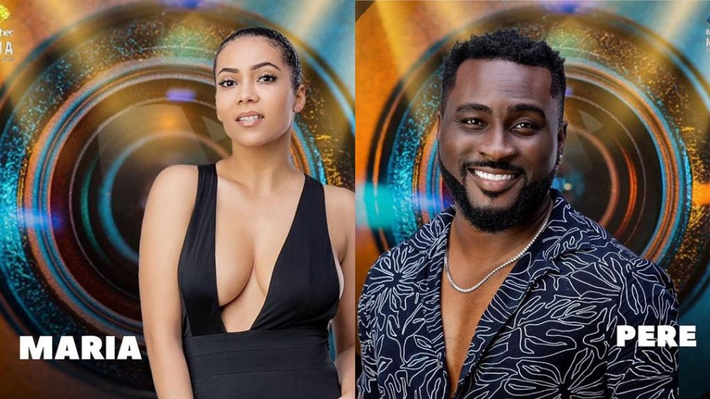 Pere and Maria survived Wild Card eviction in Big Brother Naija 2021