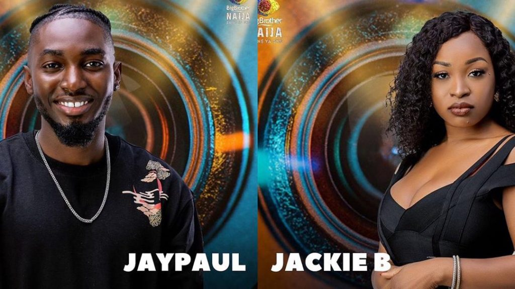 Jackie B and Jay Paul Won Head of House for Week 6 in BBNaija 2021