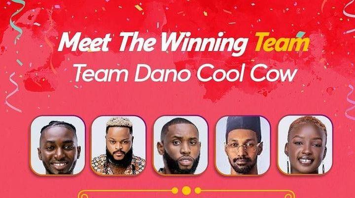 Team Cool Cow Wins Dano Task in Week 5 of BBN 2021