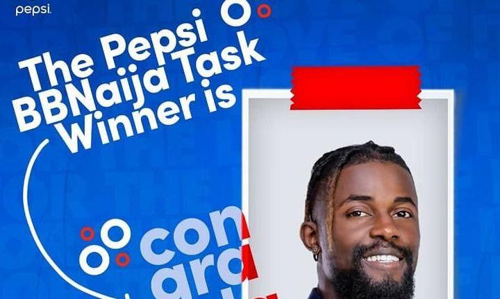 Winner of Pepsi Task this week in BBNaija 2021
